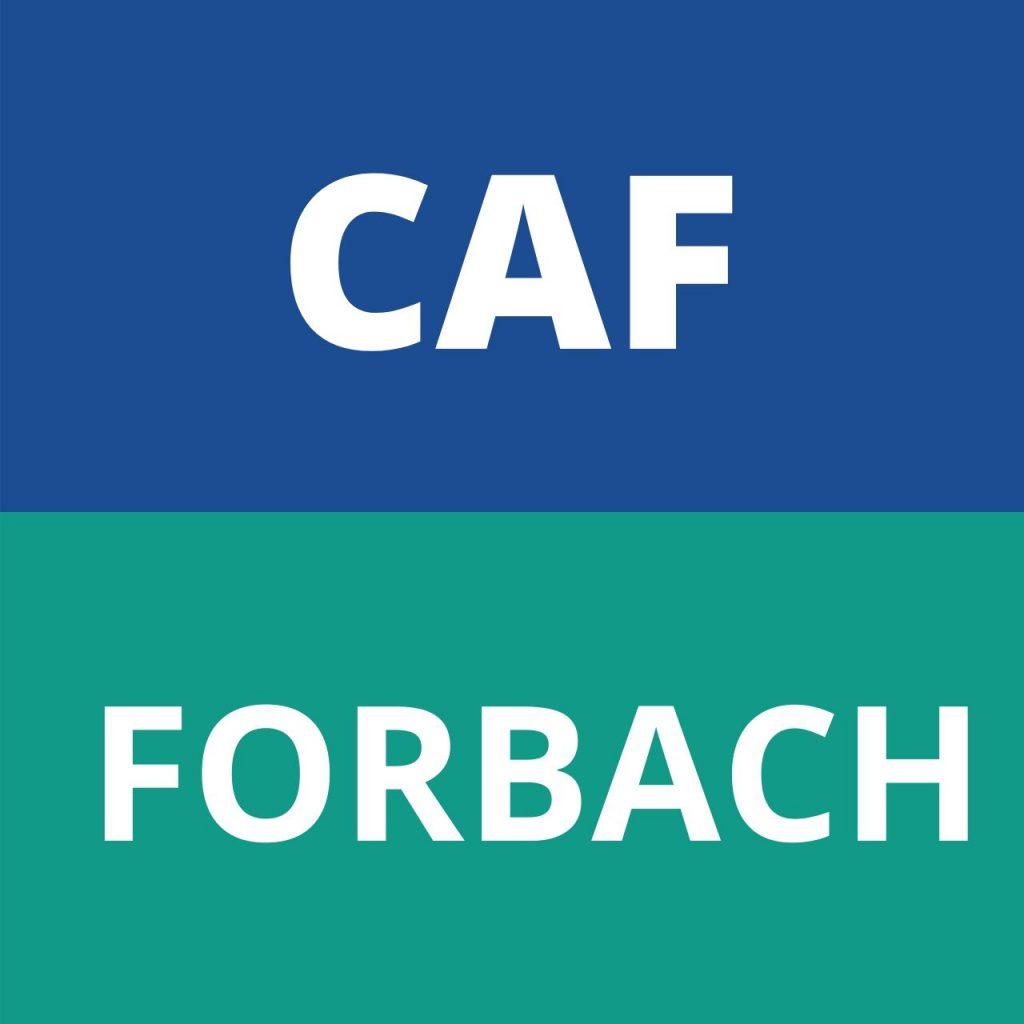 CAF FORBACH