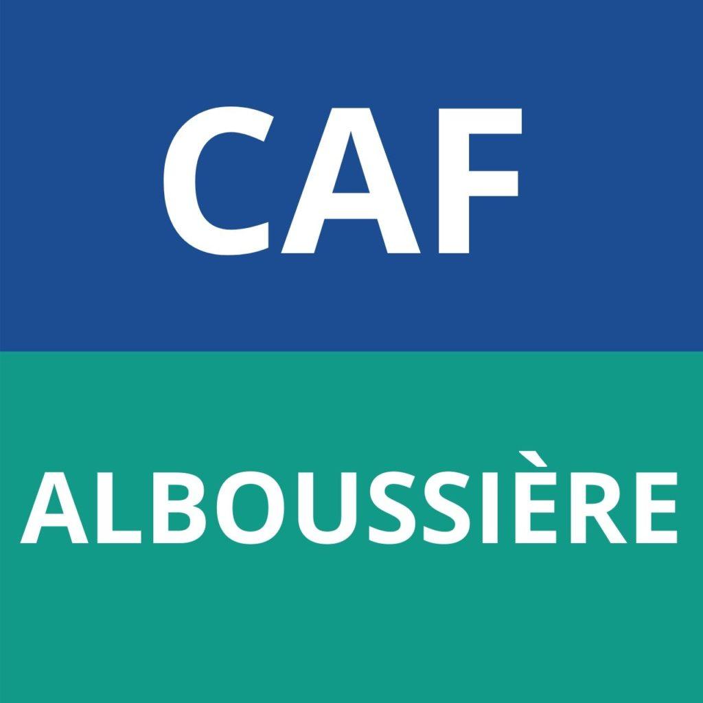caf Alboussière