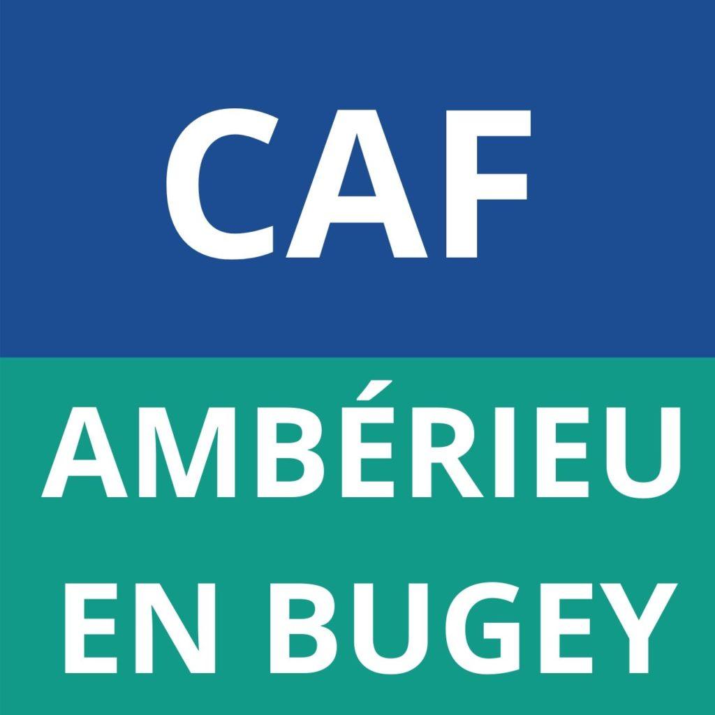 caf Ambérieu en Bugey