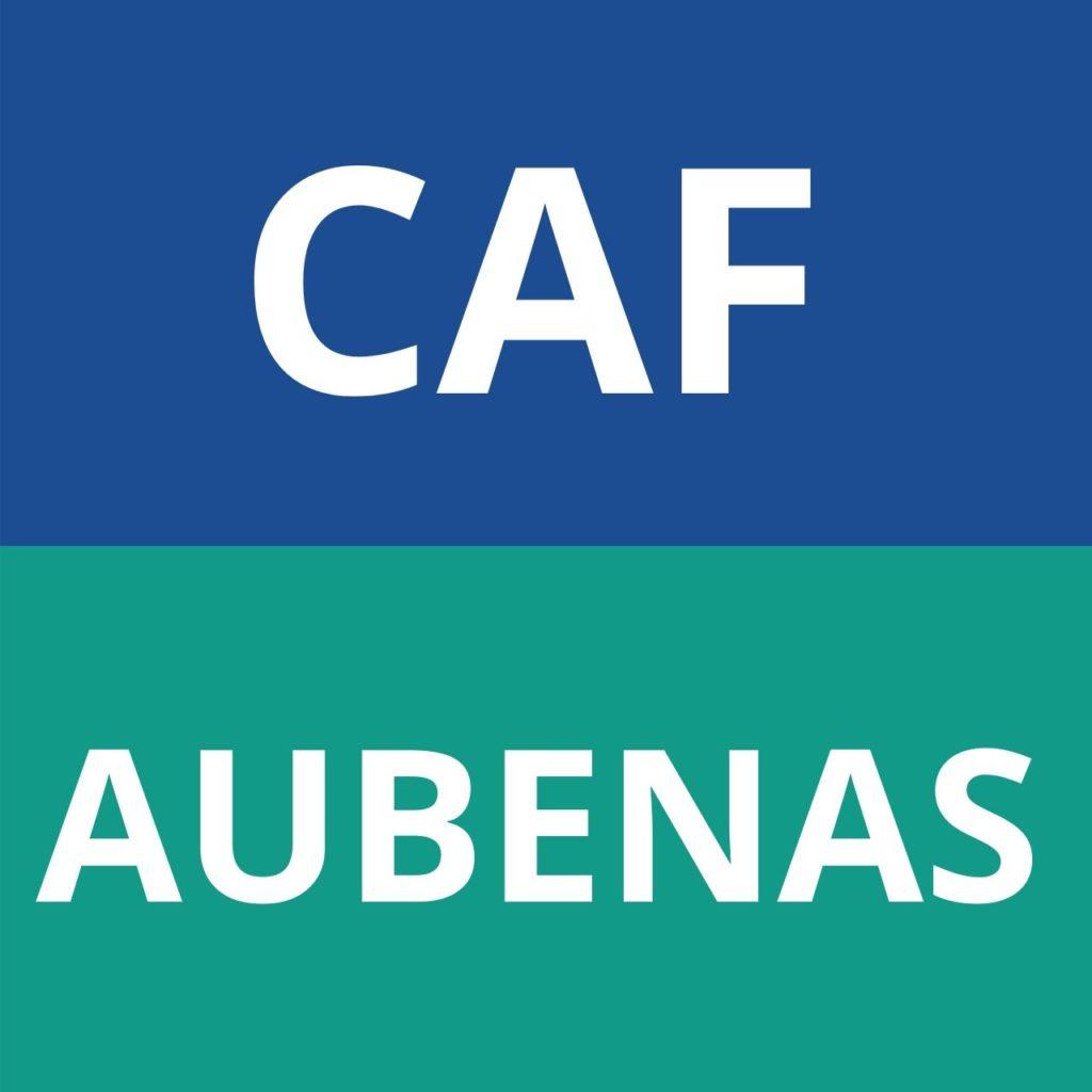 caf Aubenas