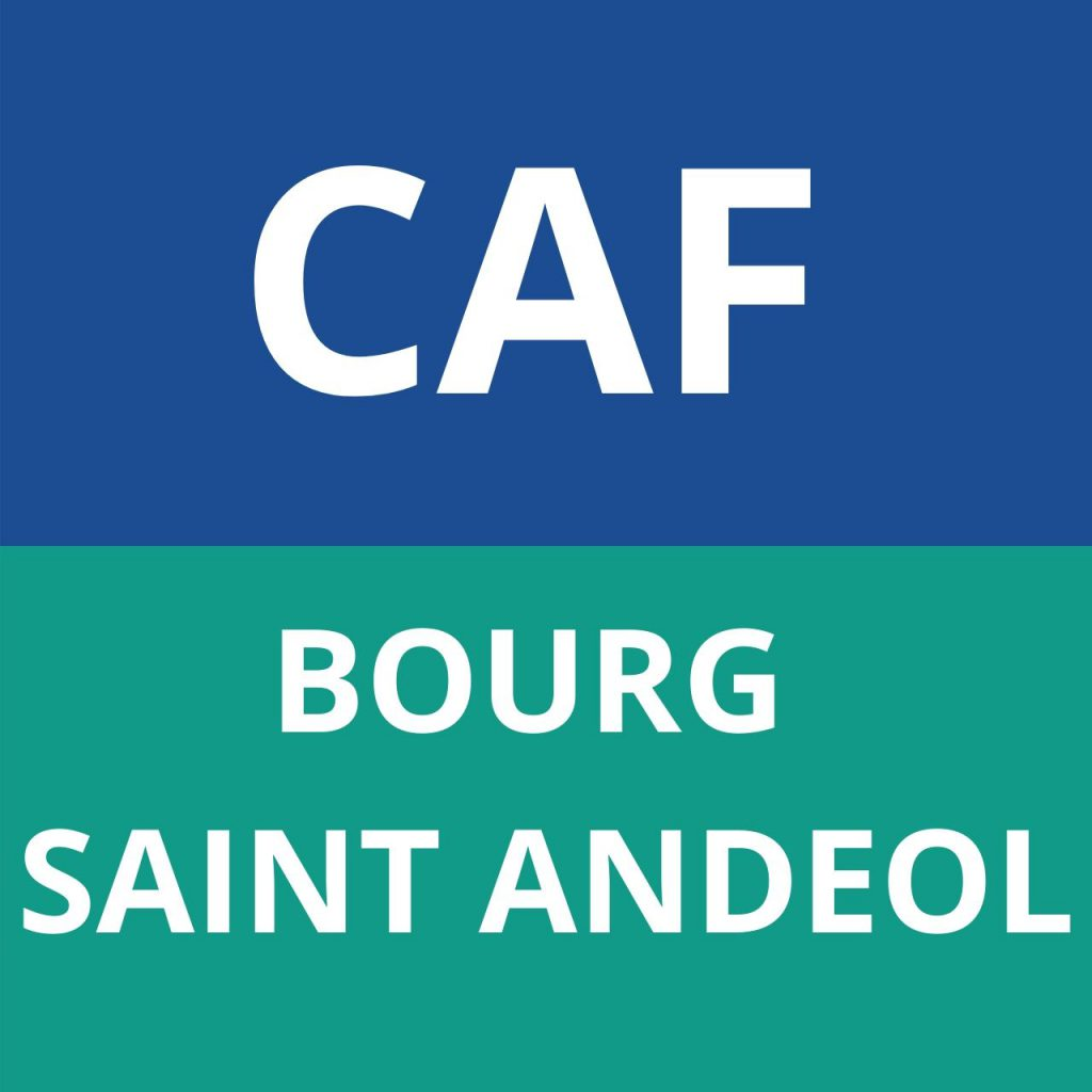CAF BOURG SAINT ANDEOL