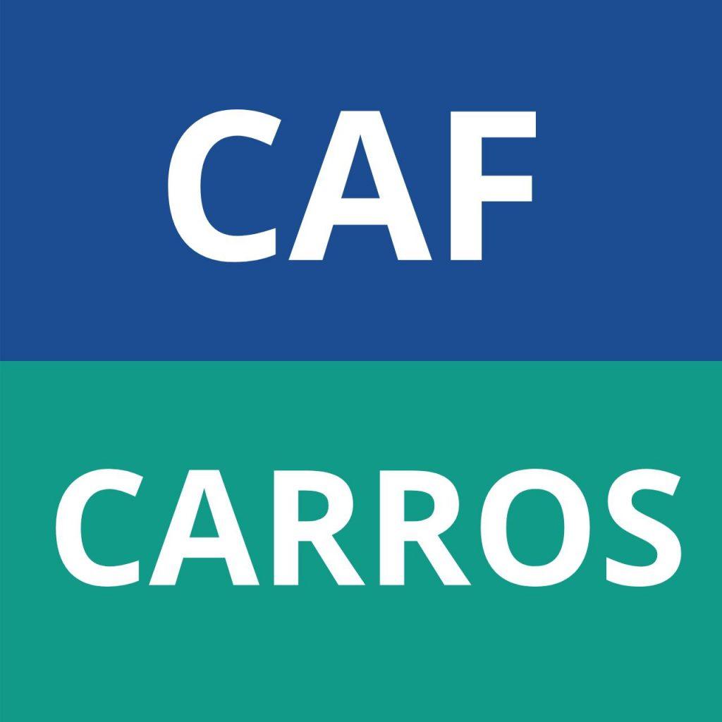 CAF CARROS