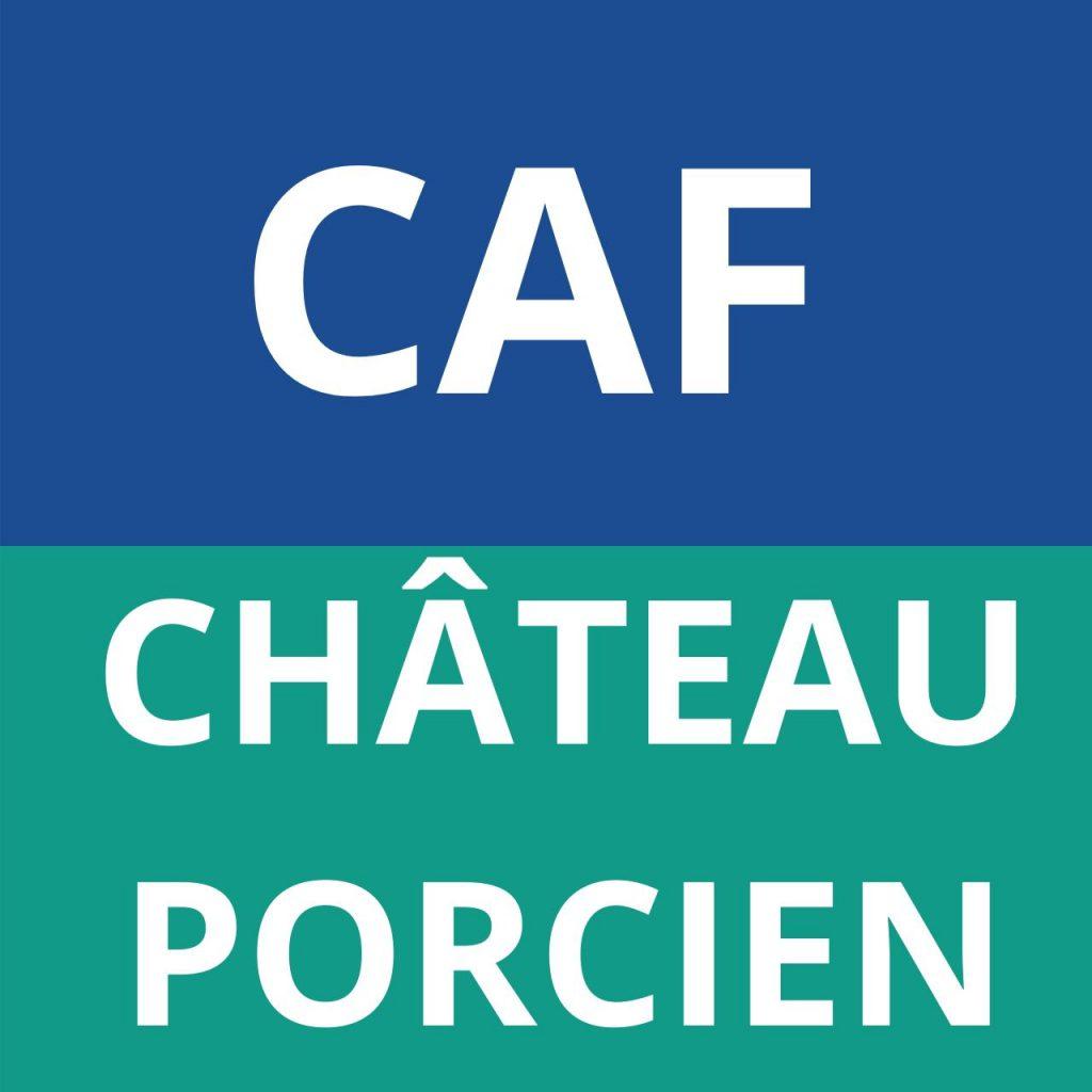 caf château porcien