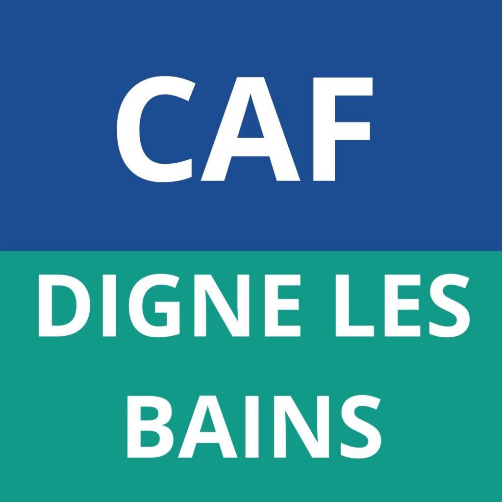 caf Digne Les Bains
