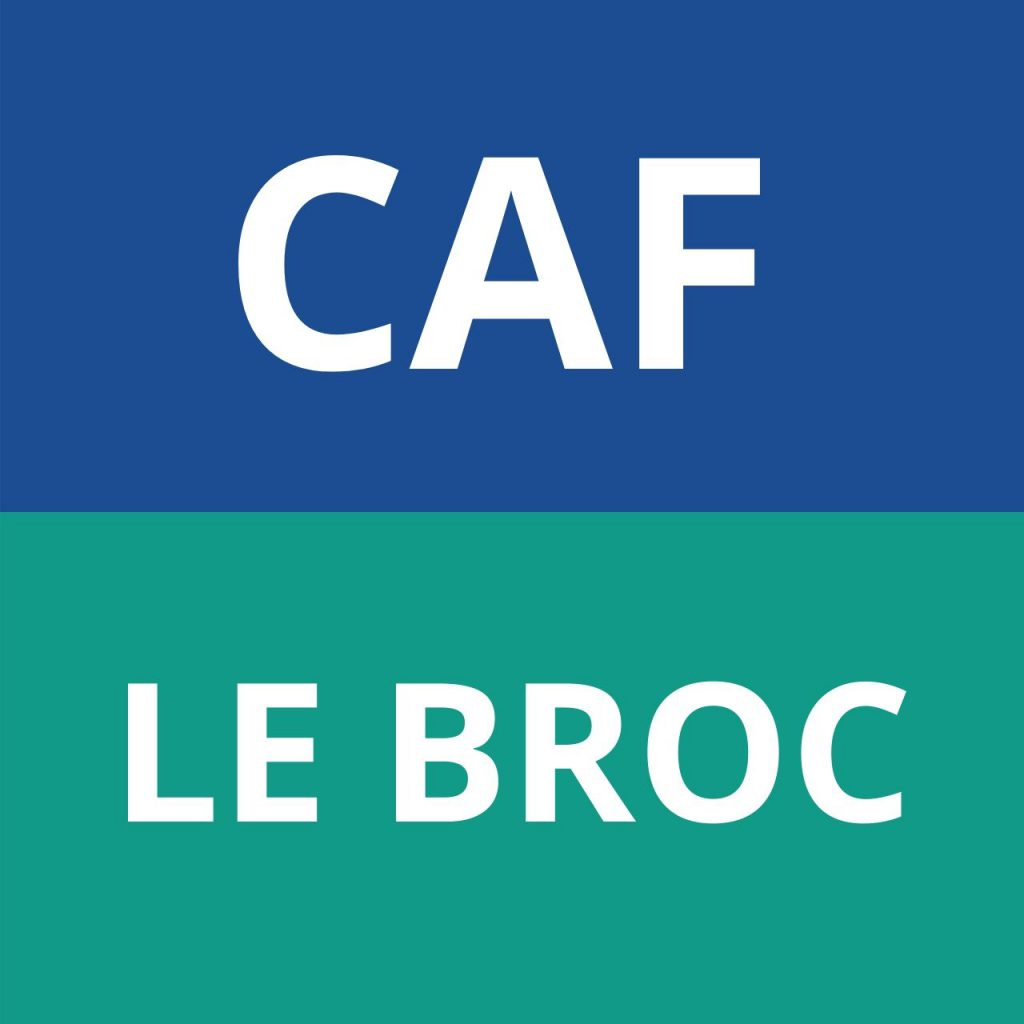 CAF LE BROC