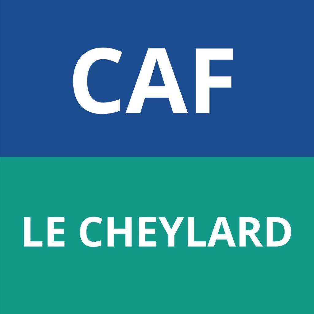 CAF LE CHEYLARD