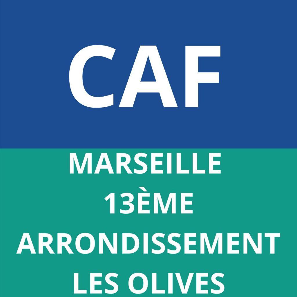 CAF MARSEILLE 13EME ARRONDISSEMENT LES OLIVES