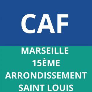 CAF MARSEILLE 15EME ARRONDISSEMENT SAINT LOUIS
