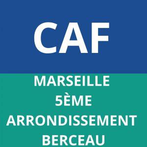 CAF MARSEILLE 5EME ARRONDISSEMENT BERCEAU