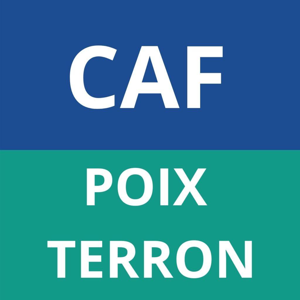 caf Poix Terron