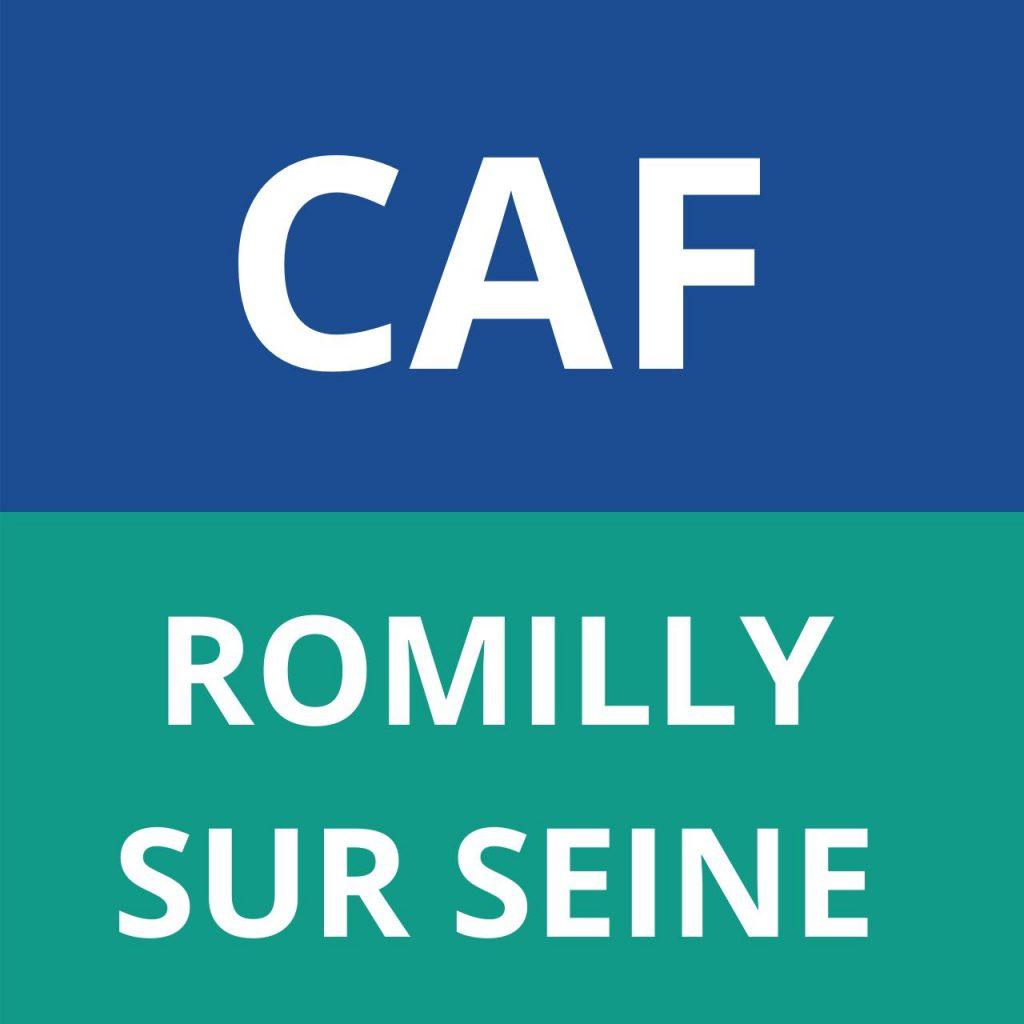 CAF ROMILLY SUR SEINE