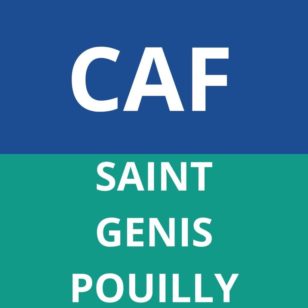 caf Saint Genis Pouilly