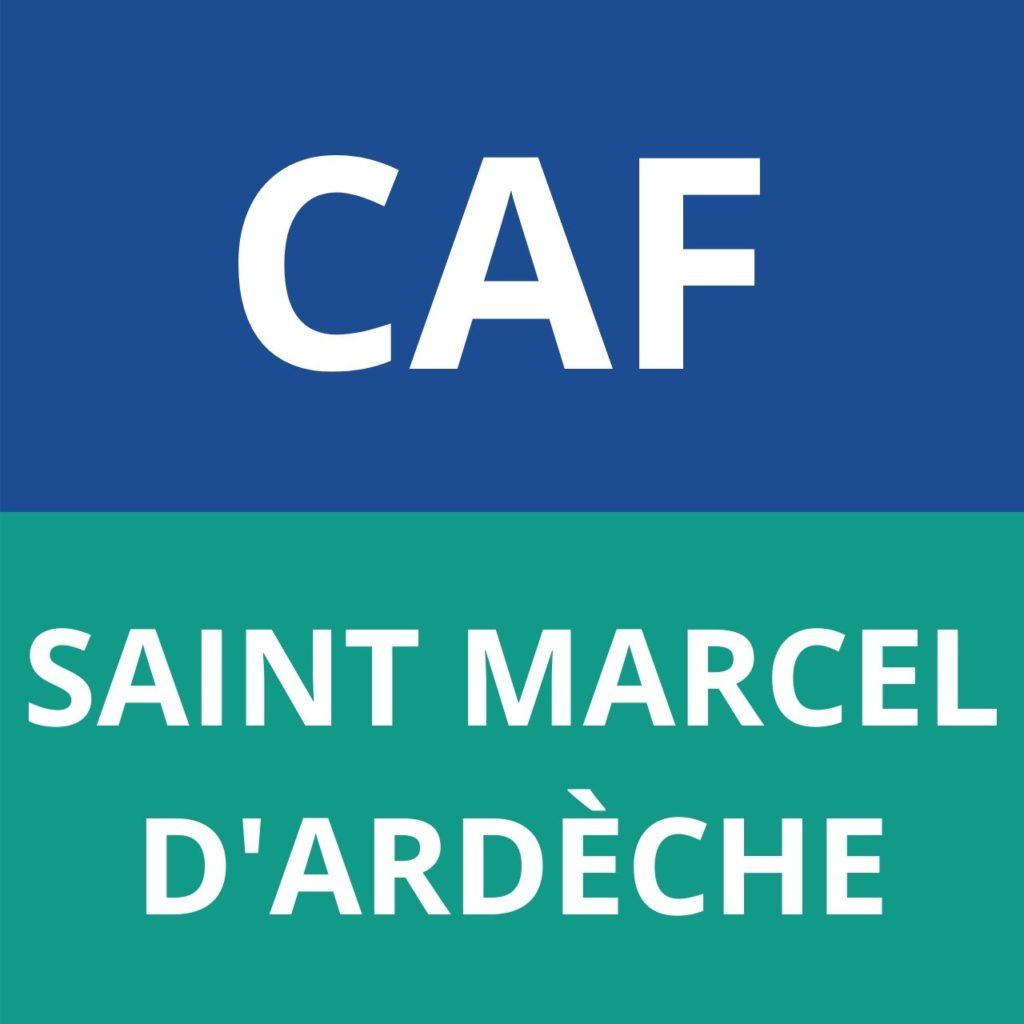 caf Saint Marcel d'Ardèche
