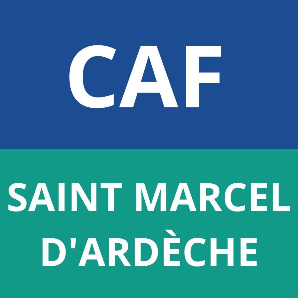 CAF SAINT MARCEL D'ARDECHE