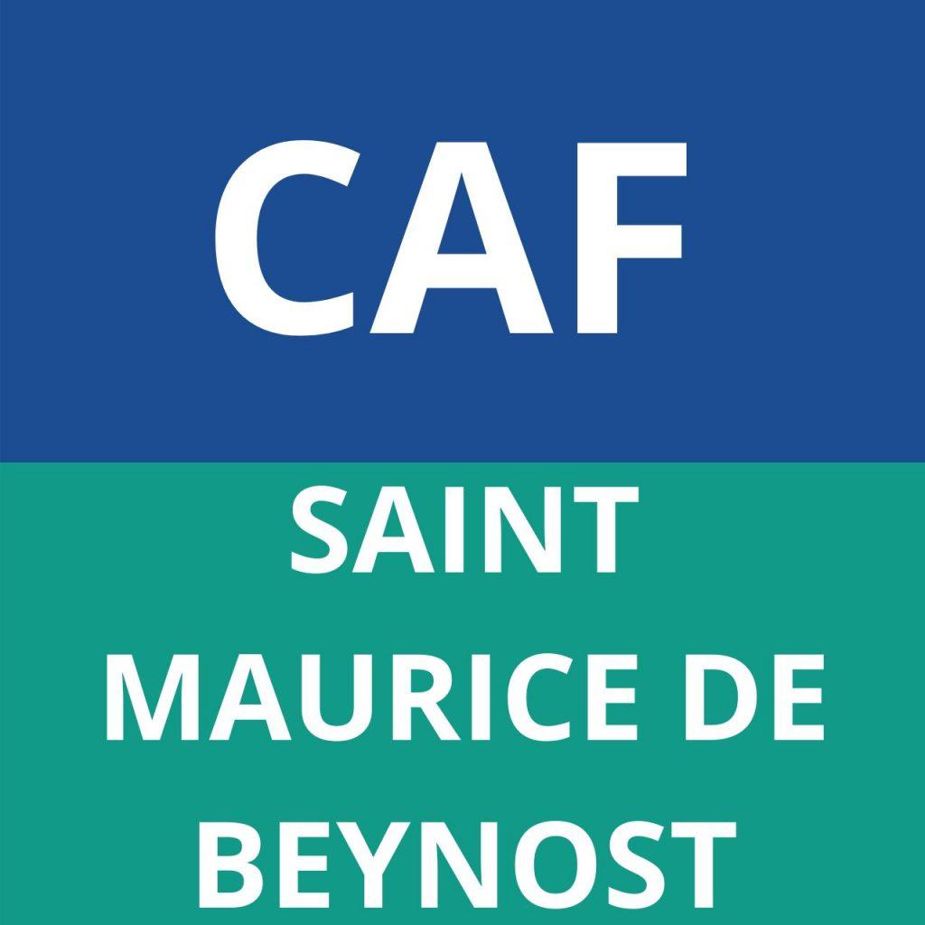 caf saint maurice de beynost
