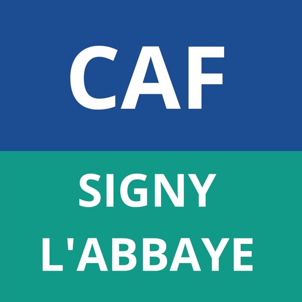 CAF SIGNY L'ABBAYE