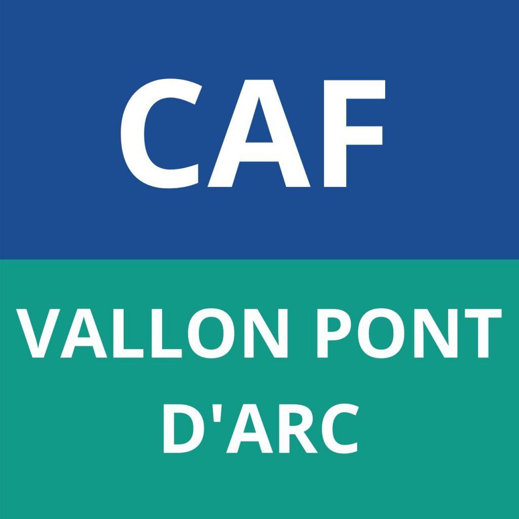 CAF VALLON PONT D'ARC
