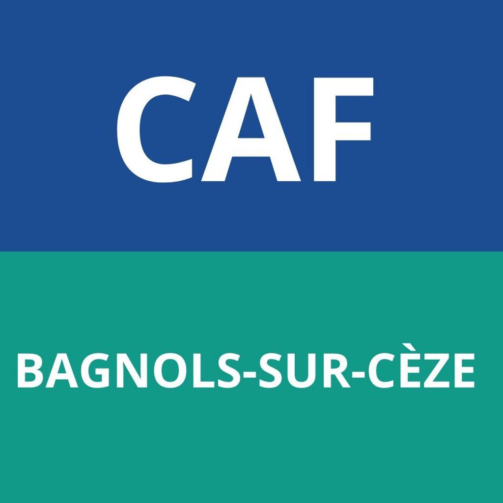 caf BAGNOLS-SUR-CÈZE