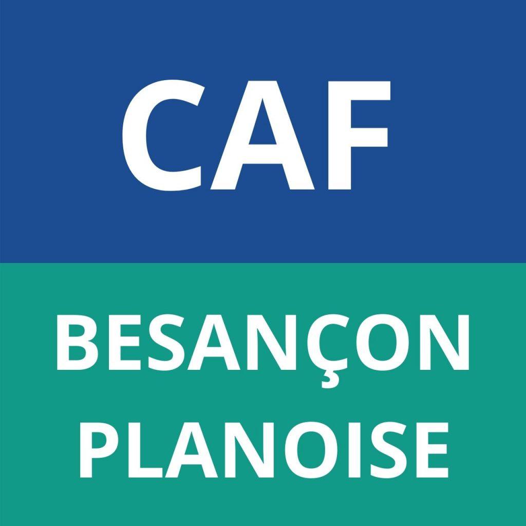"caf BESANÇON ""Planoise"""
