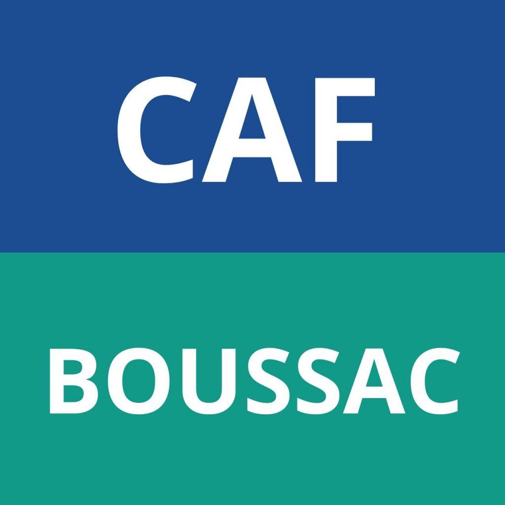 CAF BOUSSAC