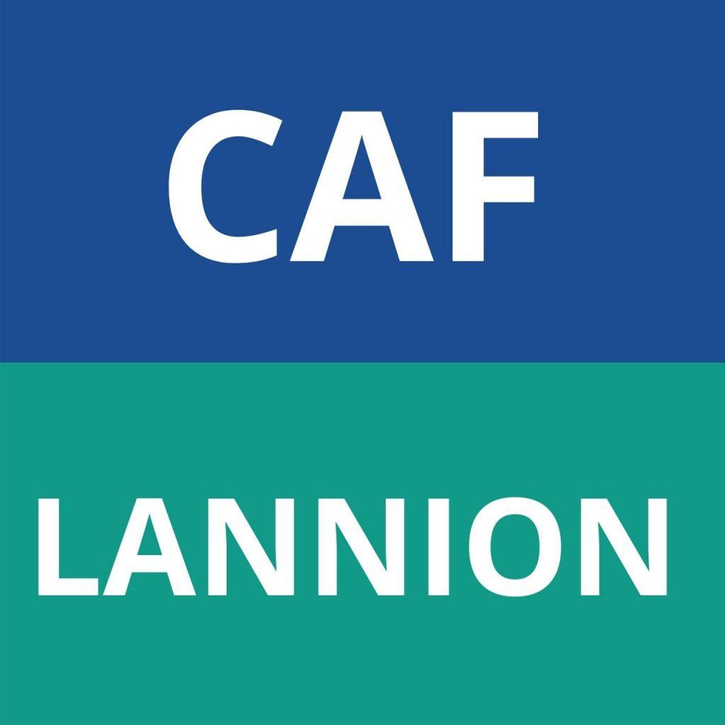 CAF Lannion logo