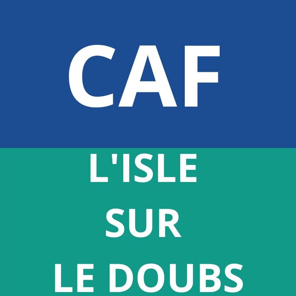 caf L'ISLE SUR LE DOUBS