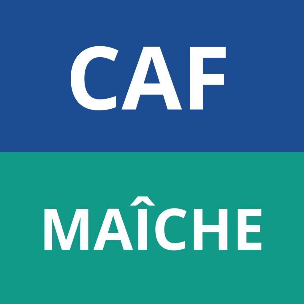 caf MAÎCHE