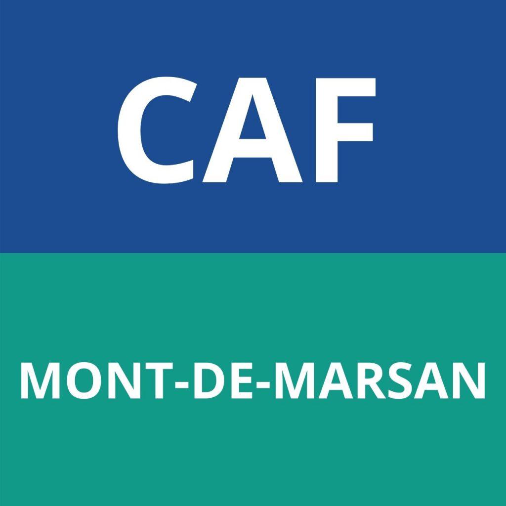 caf MONT-DE-MARSAN