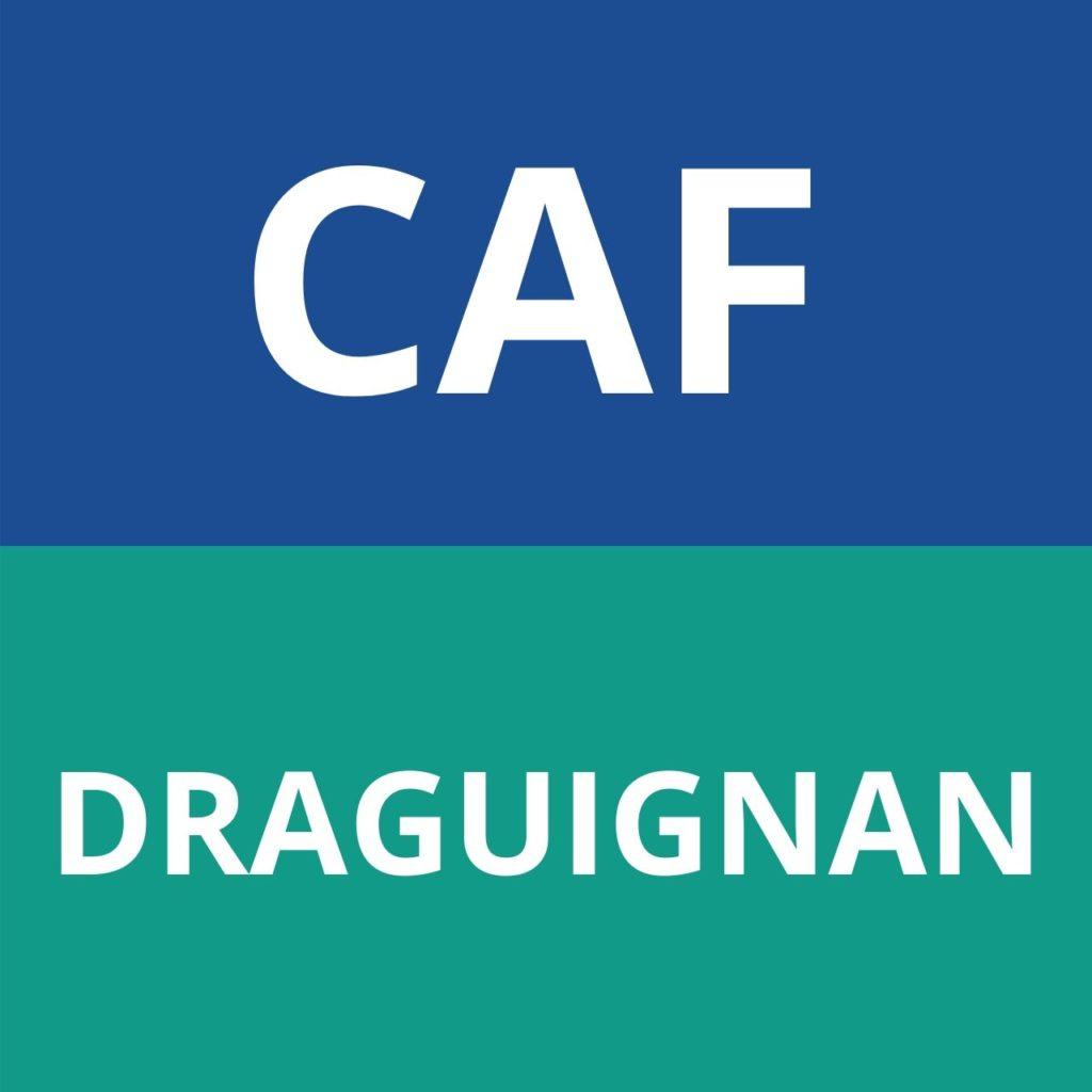 caf DRAGUIGNAN