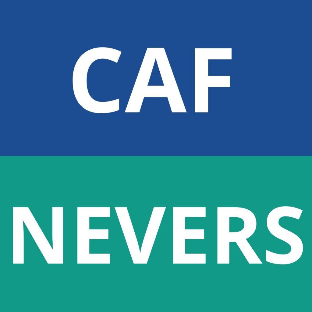 caf nevers logo