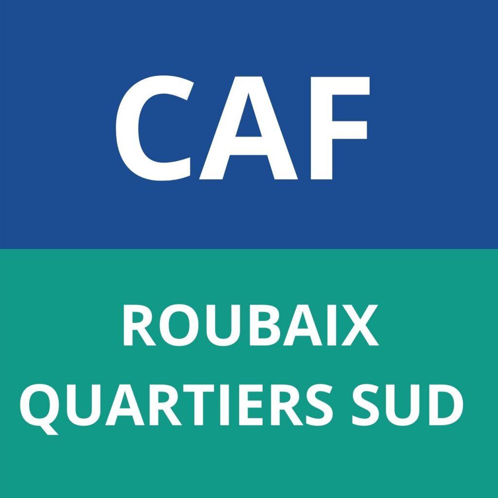 CAF ROUBAIX QUARTIERS SUD