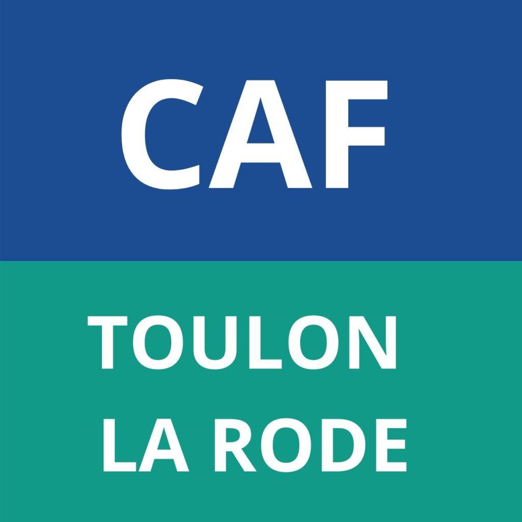 CAF TOULON LA RODE