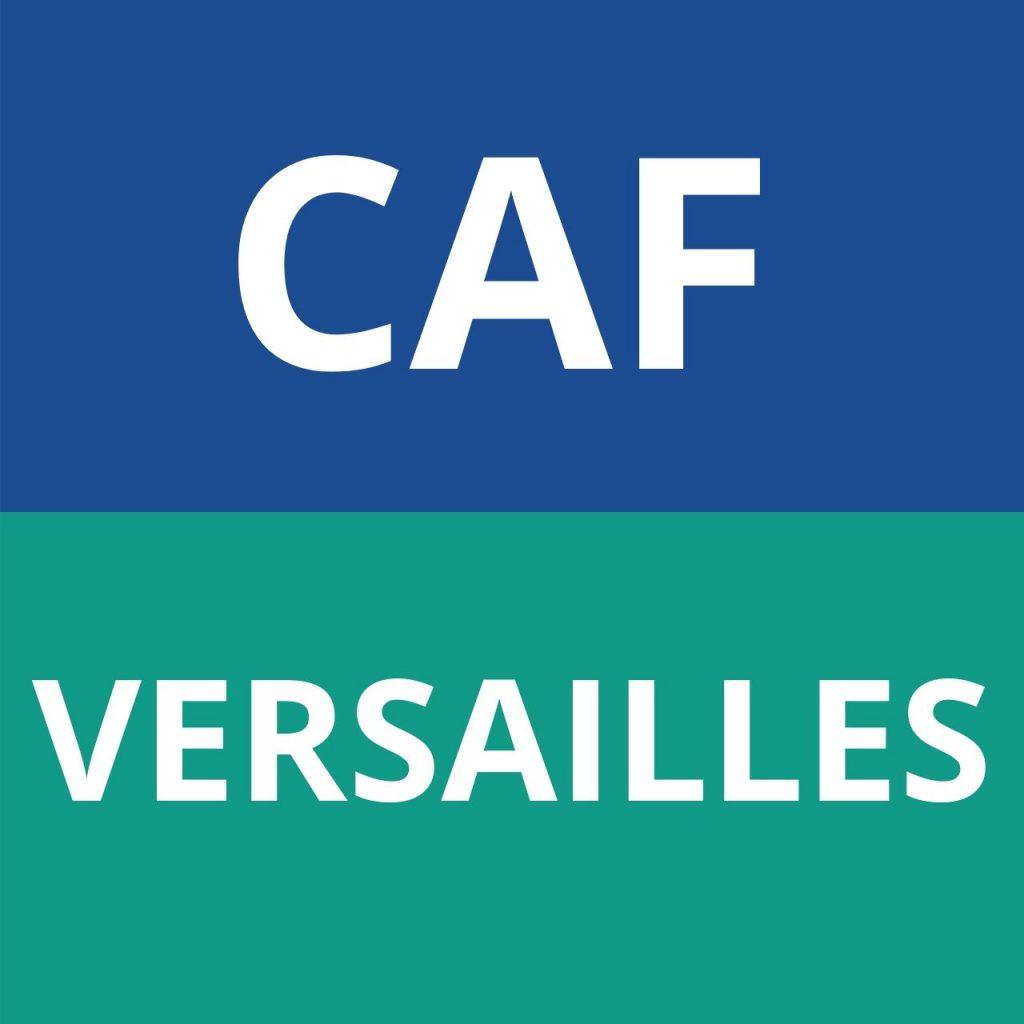 CAF VERSAILLES LOGO