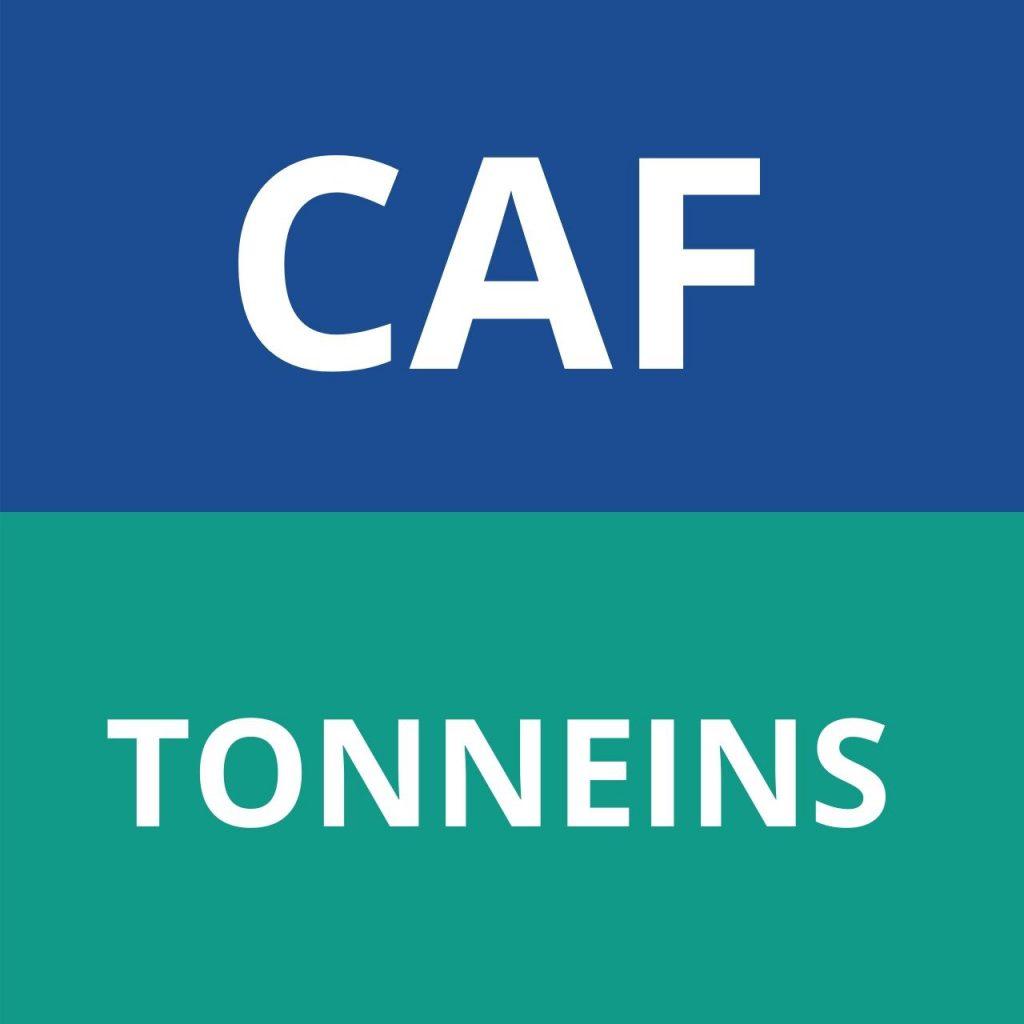caf TONNEINS