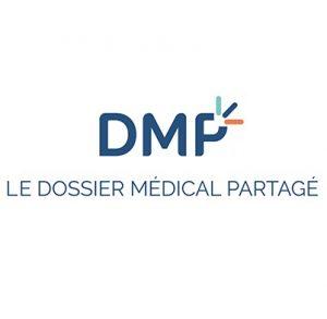 DMP Dossier médical partagé logo