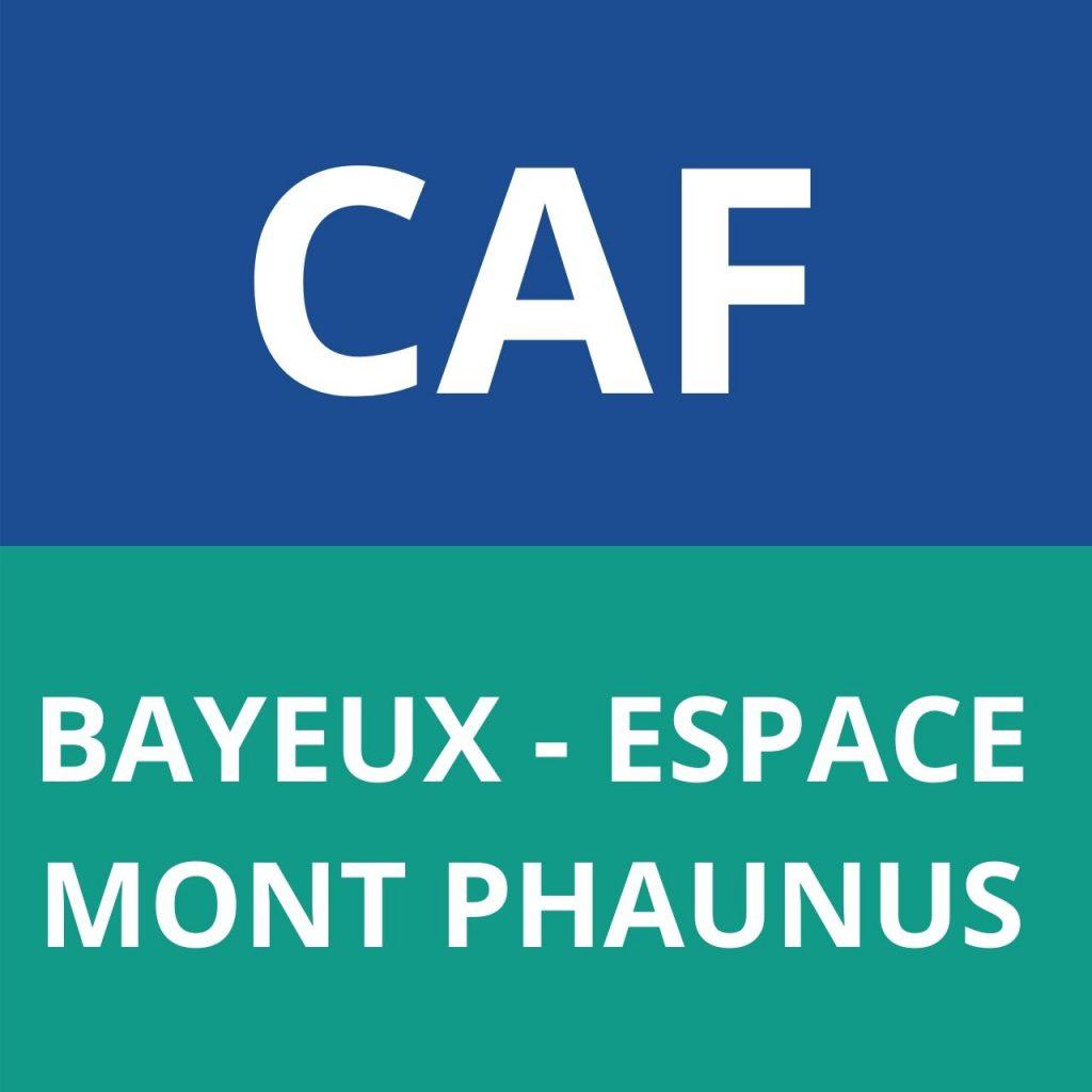 caf Bayeux - Espace Mont Phaunus