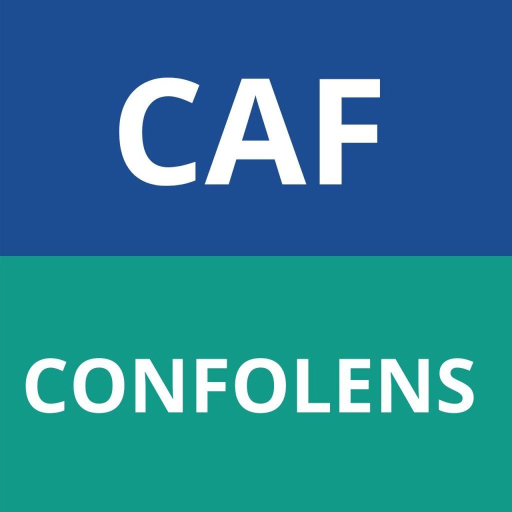 caf CONFOLENS
