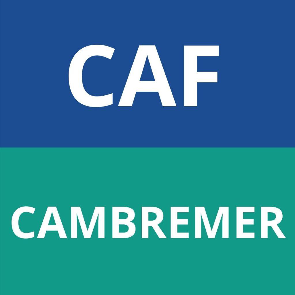 caf Cambremer