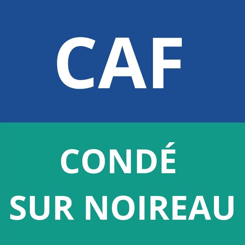 CAF Condé sur noireau