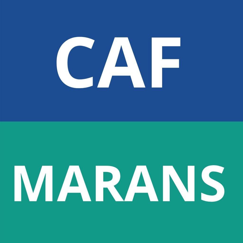 caf MARANS