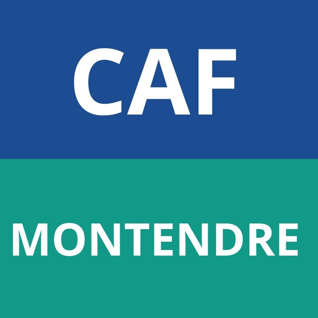 caf MONTENDRE
