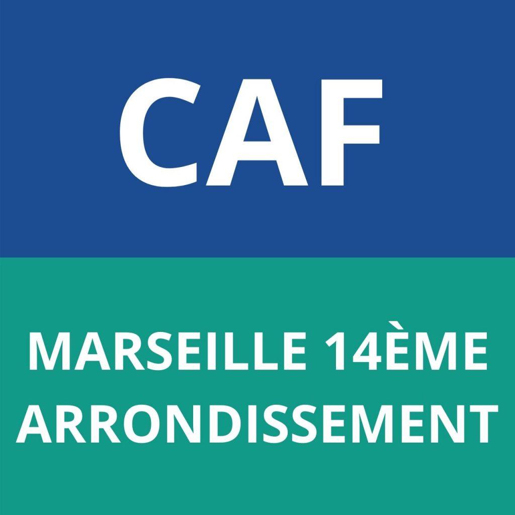 caf marseille 14ème arrondissement