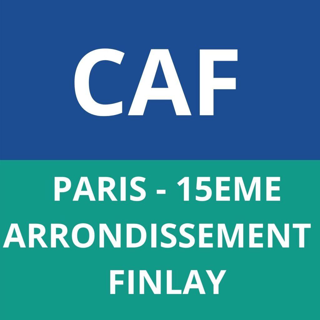 CAF PARIS 15EME