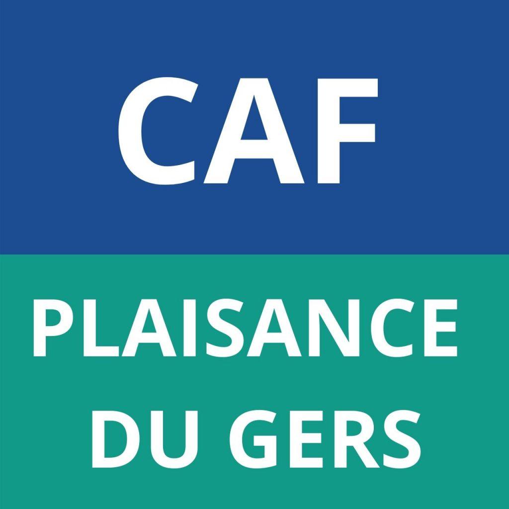 CAF PLAISANCE DU GERS