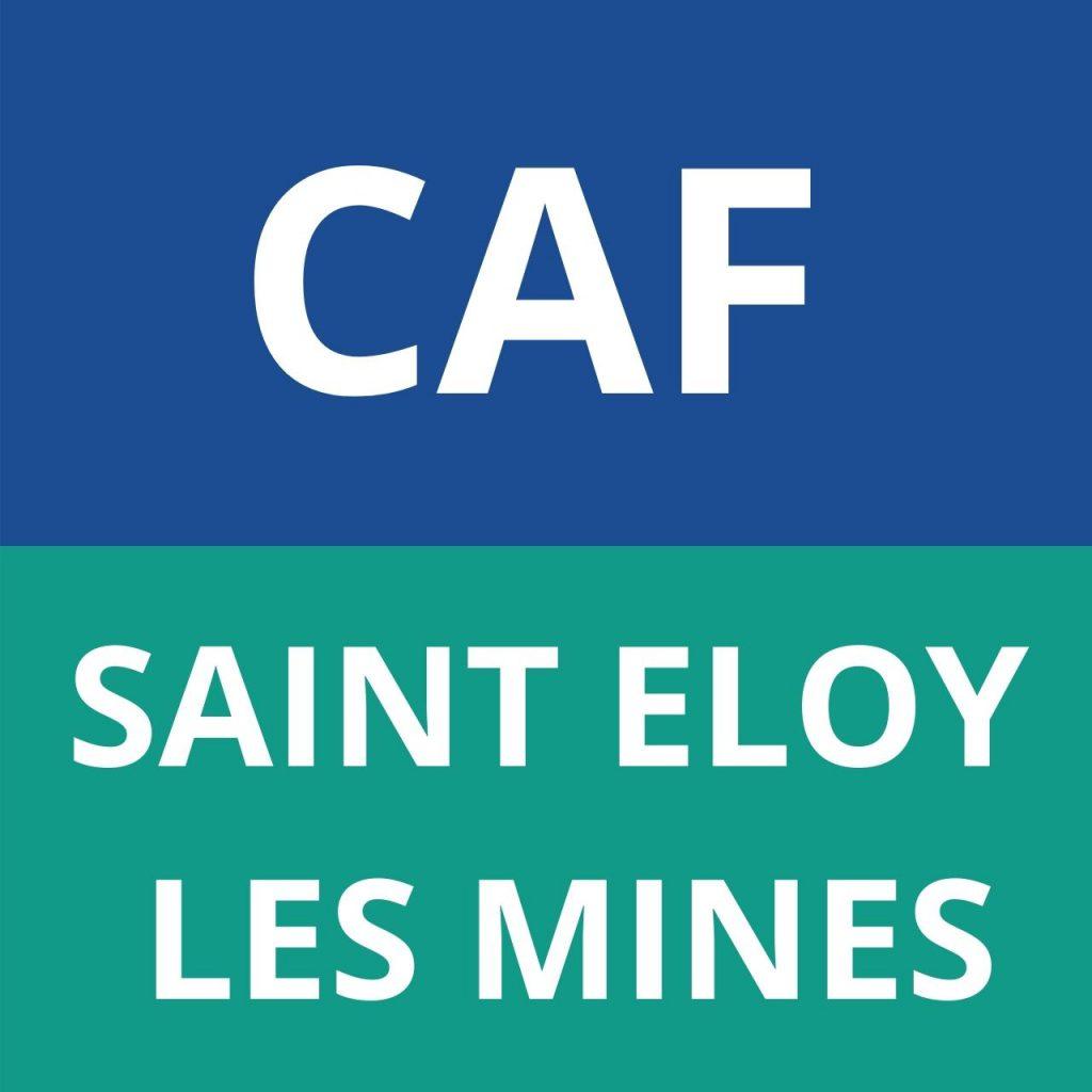 caf SAINT ELOY LES MINES