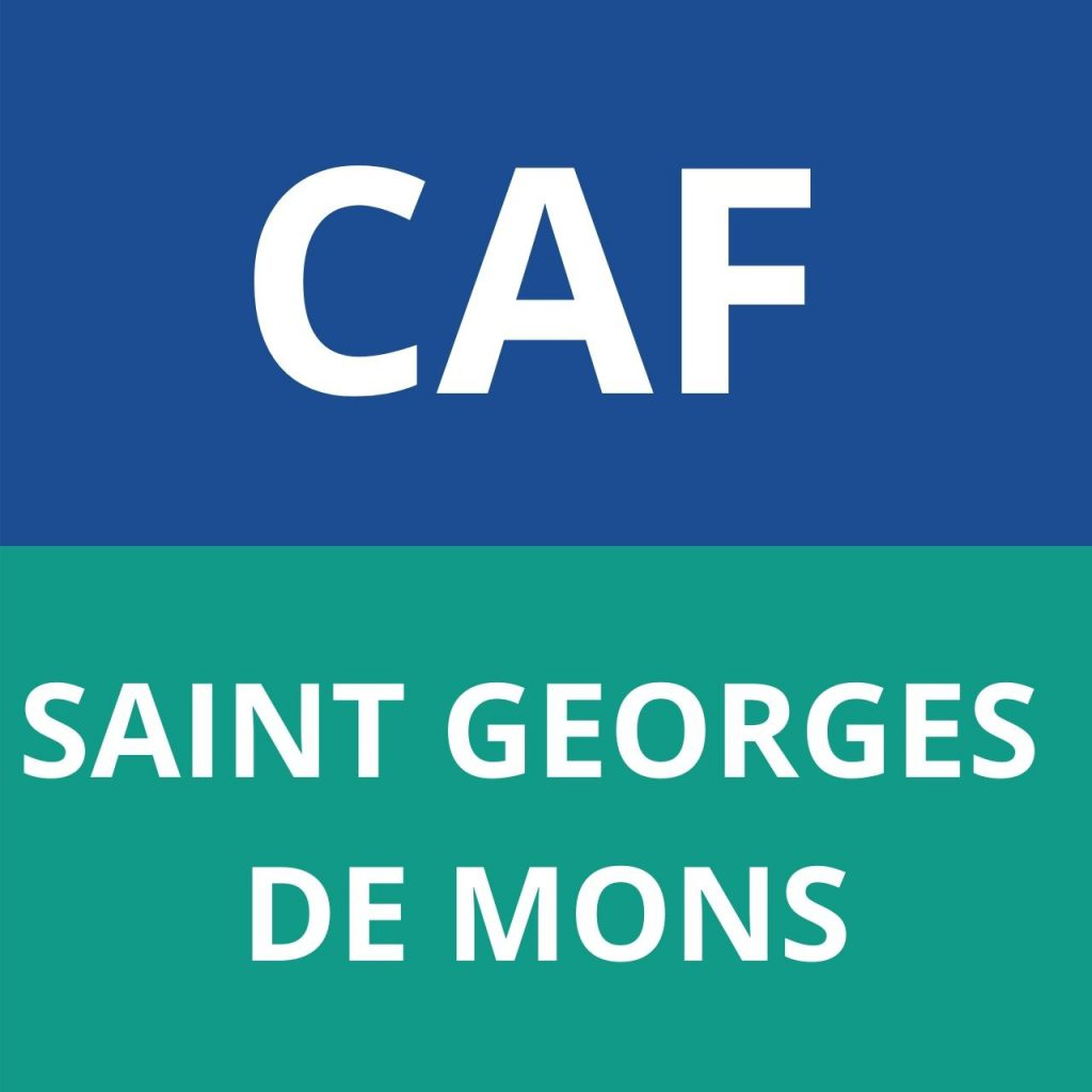 caf SAINT GEORGES DE MONS