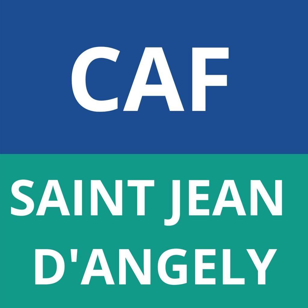 caf saint jean d'angély