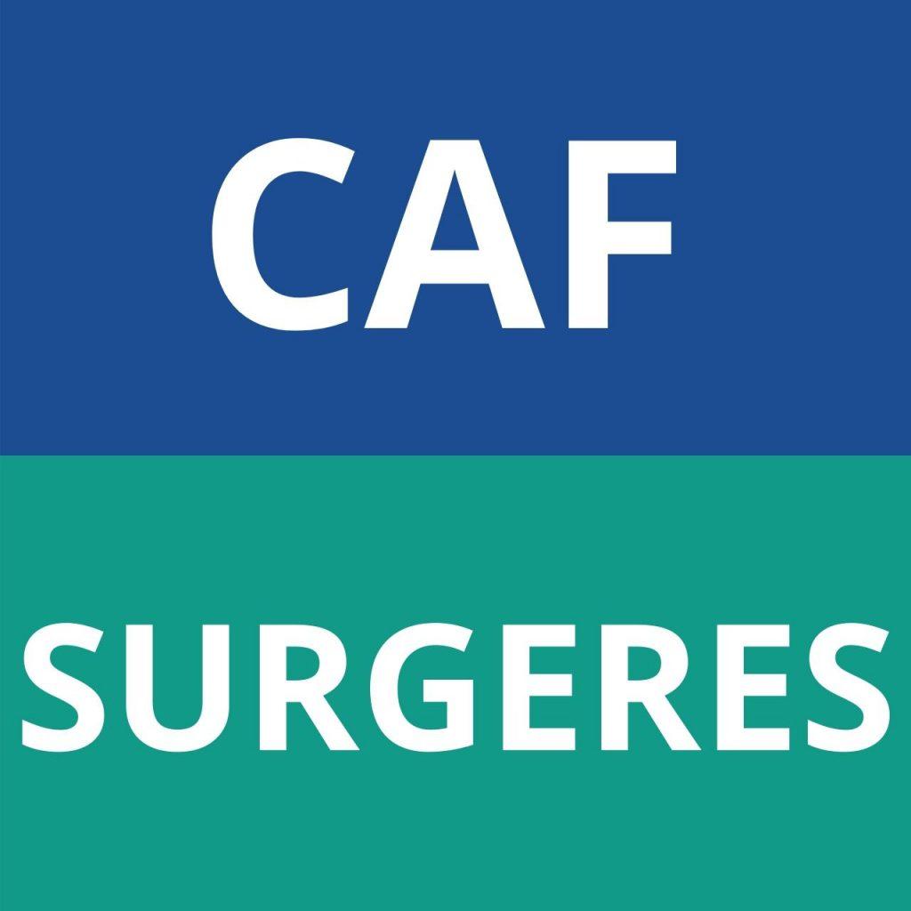 caf SURGERES
