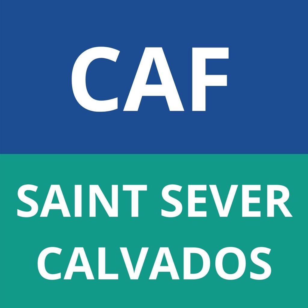 caf Saint Sever Calvados