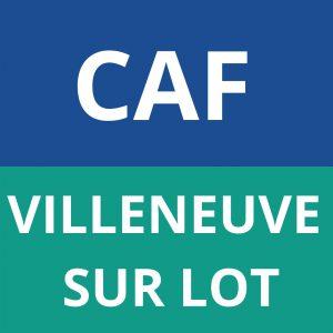 caf VILLENEUVE SUR LOT